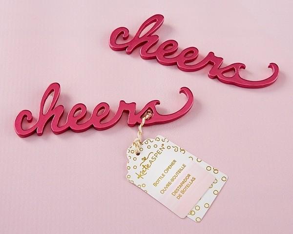 Cheers Pink Bottle Opener