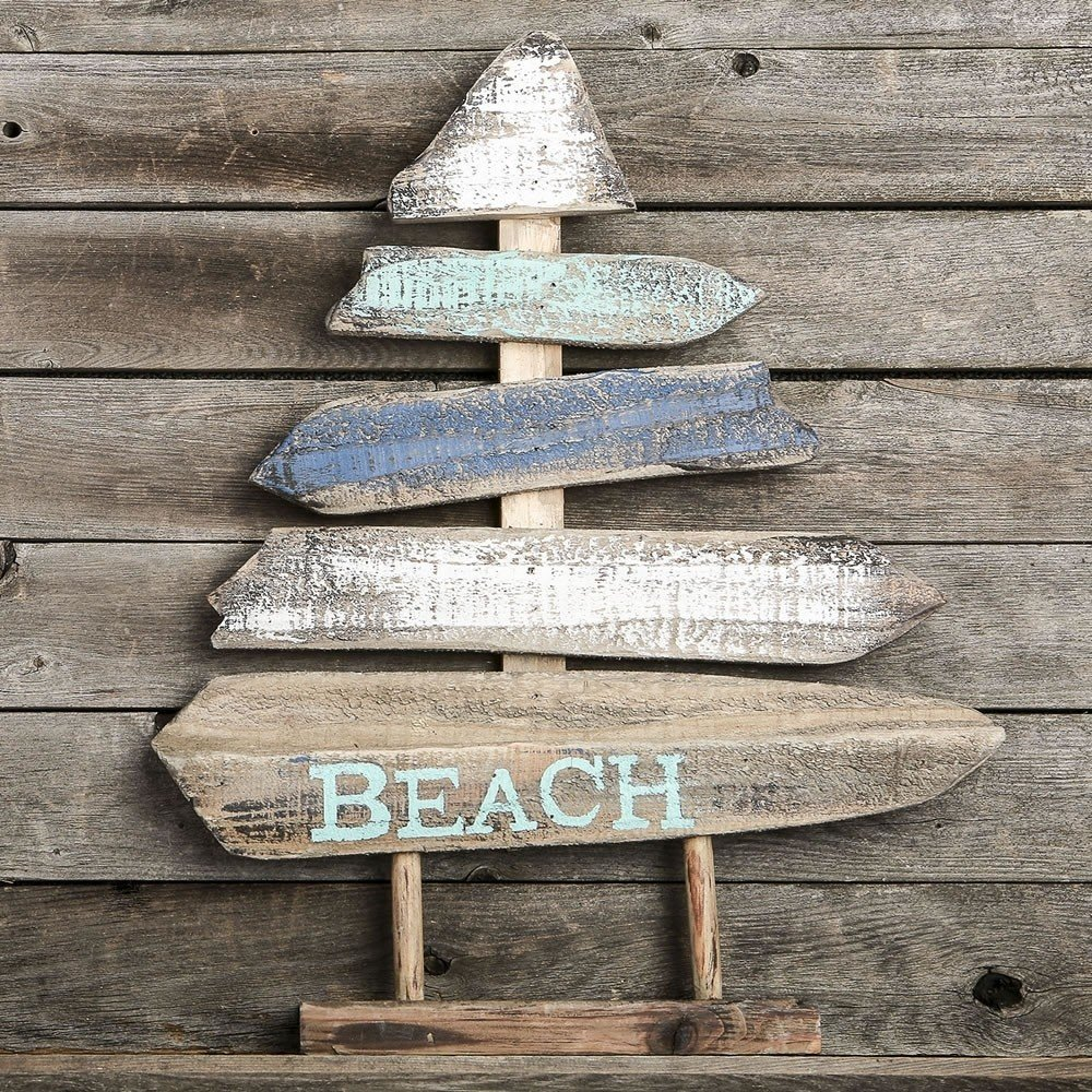 Boat - Beach standing plaque - from gifts by fashioncraft
