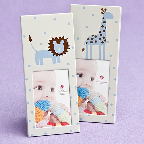 Animal Themed  Baby Frames - Blue