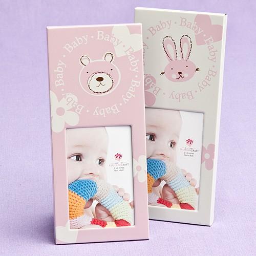 Baby girl themed frames