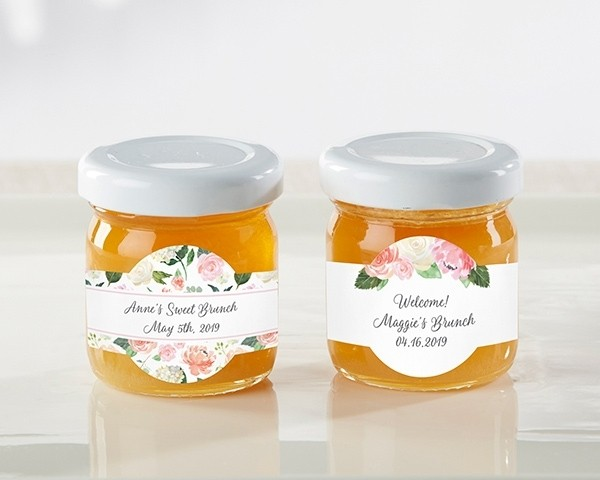 Personalized Honey Jar - Brunch (Set of 12)