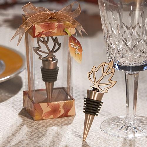 Autumn Themed Wine Bottle Stopper