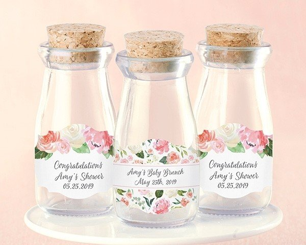 Personalized Milk Jar - Baby Brunch (Set of 12)