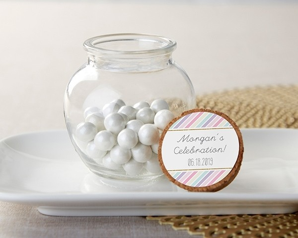 Personalized Glass Sphere Jar - So Sweet (Set of 12)