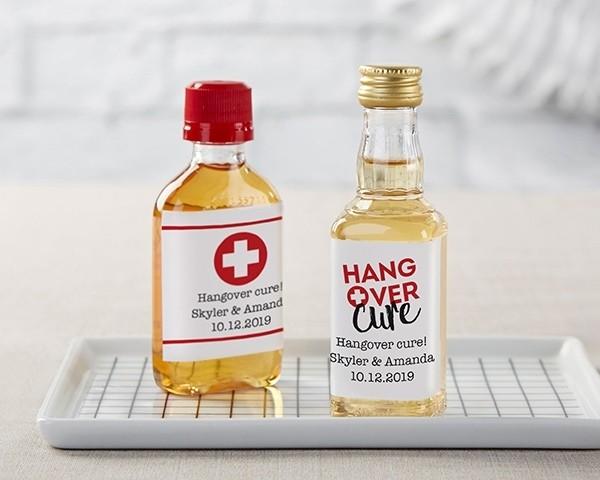 Personalized Mini Liquor Labels - Hangover