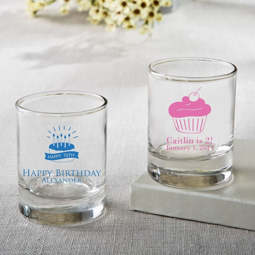 Personalized Shot glass or votive from fashioncraft - birthday ...