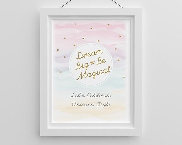 Personalized Poster (18x24) - Enchanted Party