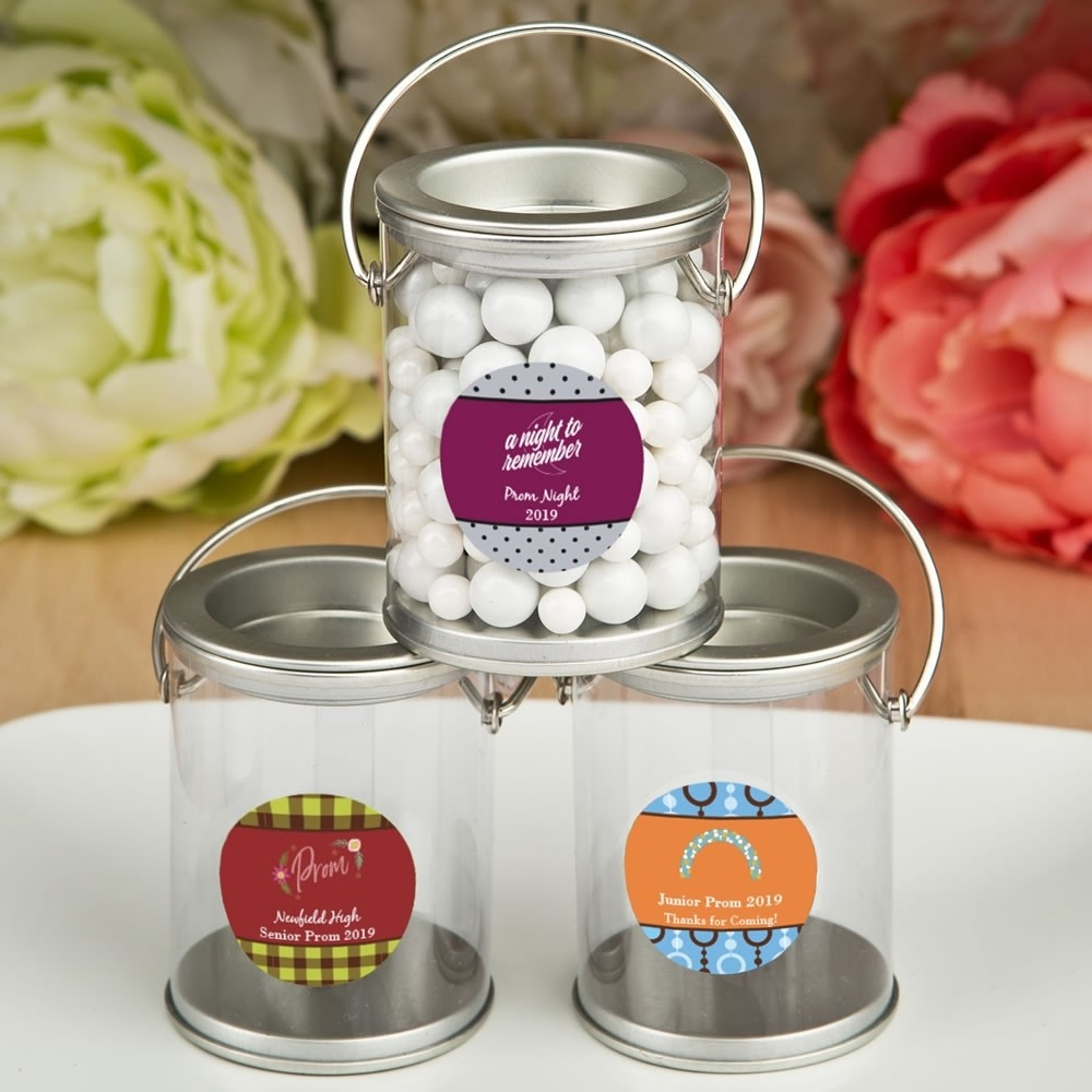 Personalized prom design Collection classic mini paint can