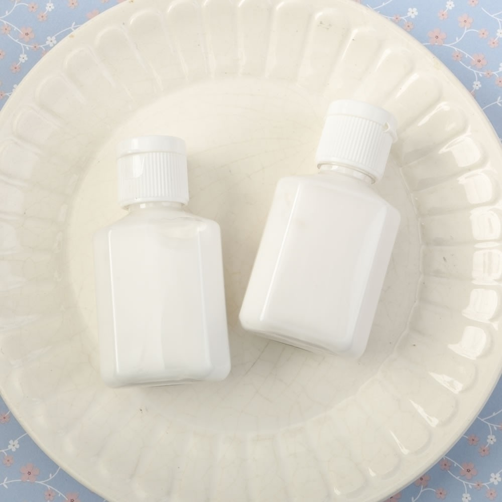 Perfectly plain collection white hand lotion with a vanilla scent