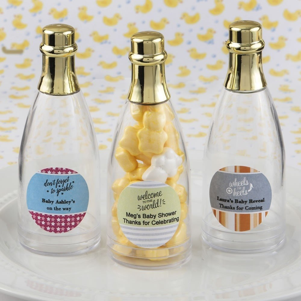 Design Your Own Collection Personalized Acrylic Champagne Bottle
