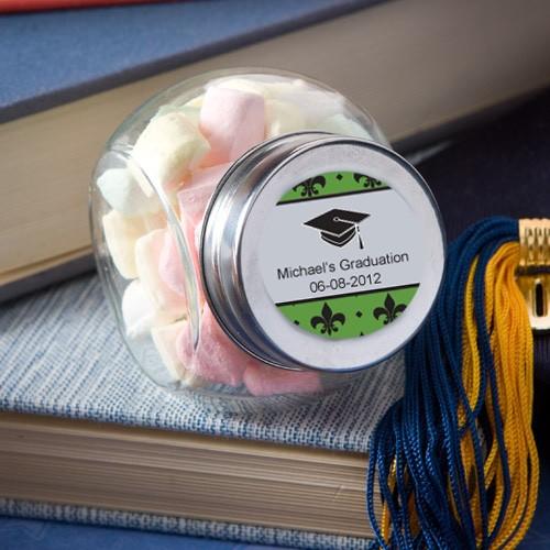 Personalized Glass Jar - Graduation