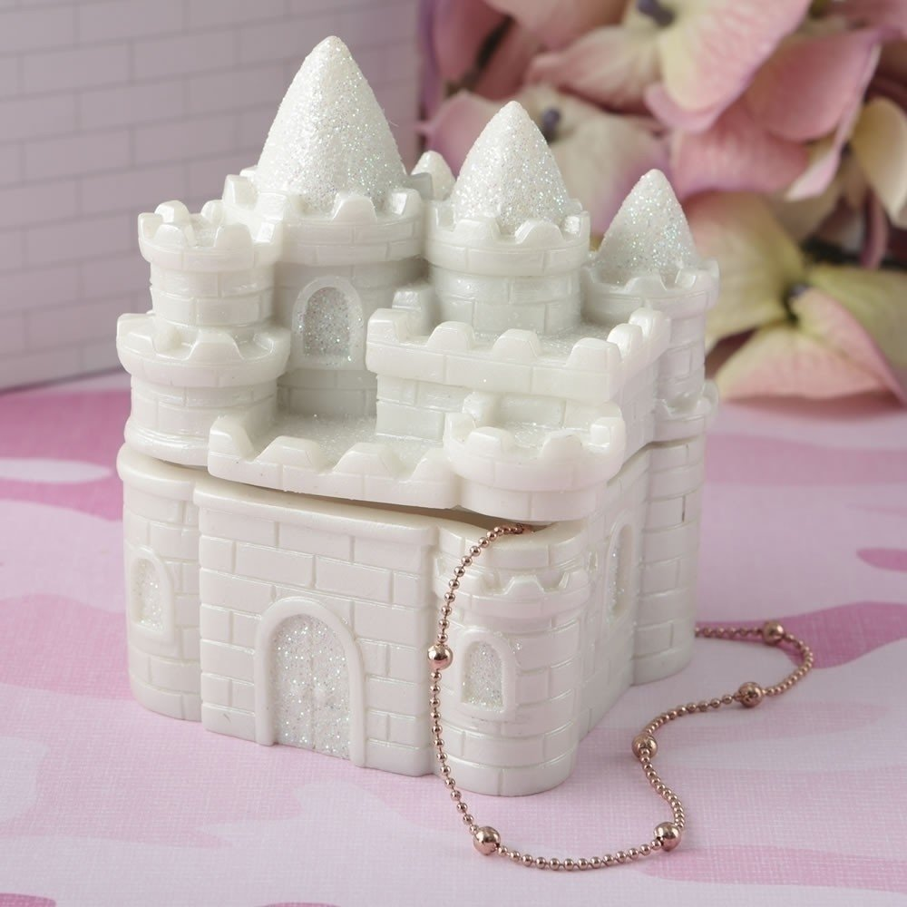 Fairytale Castle covered box from gifts by fashioncraft