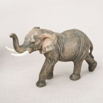 Medium Elephant -natural looking from gifts by fashioncraft