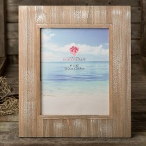 Distressed wood wide border 8 x 10 frame from gifts by fashioncraft