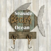 Fish wall sign - Seaside - Beach - Ocean