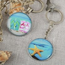 Fun Beach key Chains from gifts by fashioncraft