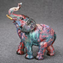 Graffiti style elephant medium size from gifts by fashioncraft