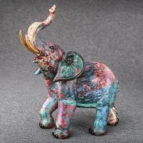 Colorful Graffiti style elephant large size