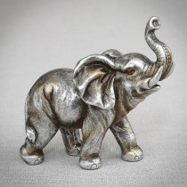 Antique Silver elephant small size from gifts by fashioncraft