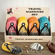 Adorable flip flop design manicure sets