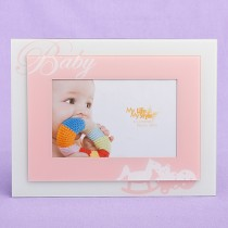 """Baby Girl Picture Frame 4"""" x 6"""""""
