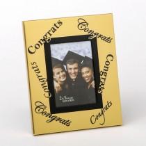 Gold 2 x 3 Congrats frame in acetate box