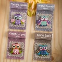 Sentimental Wise Owl Magnets from Gifts By Fashioncraft