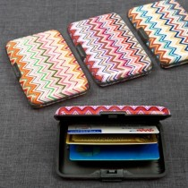 Aluminum Wallet, Credit Card Holder From Gifts By Fashioncraft