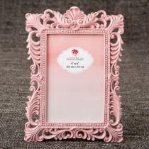 Elegant Pink Quartz 4x6 baroque frame