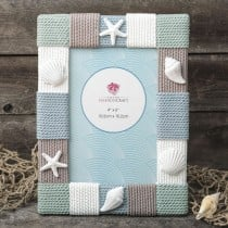 Beach frame 4 x 6 Knitted Style from gifts by fashioncraft