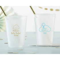 Personalized 12 oz. Frosted Flex Cup - Gender Neutral Baby Shower