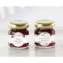 Personalized Strawberry Jam - Bridal Brunch (Set of 12)