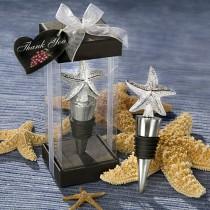 Elegant Starfish Design Bottle Stopper Favors