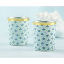 Seaside Escape Glass Votive (Set of 4)