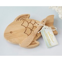 Fish Shaped Cheeseboard and Spreader