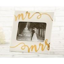 Ceramic Mr. & Mrs. Frame