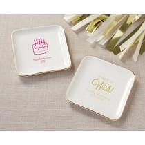 Personalized Trinket Dish - Birthday