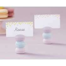 Macaron Place Card Holder (Set of 6)