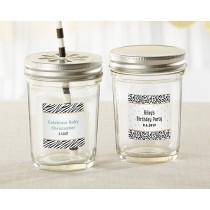 Personalized Mason Jar - Safari (Set of 12)