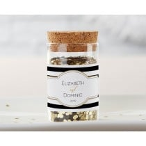 Personalized Glass Tube Jar - Classic (Set of 12)
