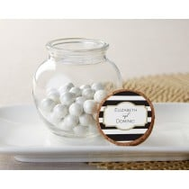 Personalized Glass Sphere Jar - Classic (Set of 12)