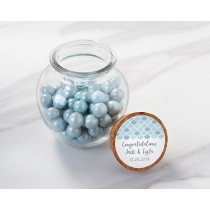 Personalized Glass Sphere Jar - Seaside Escape (Set of 12)
