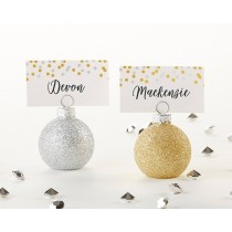 Ornaments Place Card Holder (Set of 6)