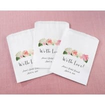 Personalized White Goodie Bags - Brunch