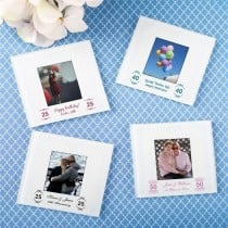 Personalized expressions Glass photo coaster