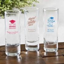 Personalized Fun 2 Oz Shooter Glasses - graduation design