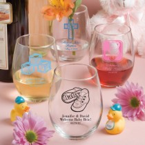 15 Ounce Stemless Wine Glasses (gift boxes available)