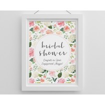 Personalized Poster (18x24) - Brunch Bridal Shower