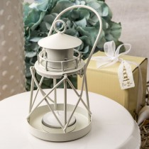 Lighthouse Luminous metal lantern from fashioncraft