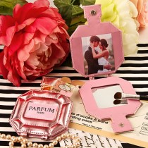 Paris themed Parfum pocket mirror and Picture holder from fashioncraft